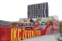 Nederland Amsterdam- 2020. Openbare Basisschool in Amsterdam Noord. IKC Zeven Zeeën is een Integraal Kindcentrum in Amsterdam Noord. Het gebouw is ontworpen door Moke Architecten. Dalton onderwijs.  Foto : ANP/ HH / Berlinda van Dam