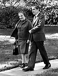 Israel Primer Minister Golda Meir and President Richard Nixon,