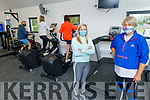 At the Sandy Feet Fitness Gym Open Day on Sunday which will be opening officially on Thursday. Front l to r: Angela O'Mahoney and Elenor Bowler.