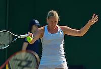England, London, Juli 04, 2015, Tennis, Wimbledon, Anna-Lena Groenefeld (GER)<br /> Photo: Tennisimages/Henk Koster