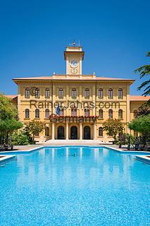 Italy, Emilia-Romagna, Cattolica: popular beach resort located on the Adriatic Sea, south of Rimini - townhall   Italien, Emilia-Romagna, Cattolica: beliebter Badeort an der Adria, suedlich von Rimini - das Rathaus