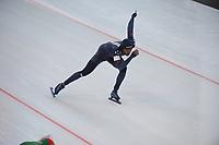 SPEEDSKATING: STAVANGER: 17-11-2017, Sørmarka Arena, ISU World Cup, Shani Davis (USA), ©photo Martin de Jong