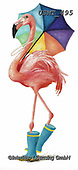 Malenda, REALISTIC ANIMALS, REALISTISCHE TIERE, ANIMALES REALISTICOS, paintings+++++,USMT495,#a#, EVERYDAY ,flamingo