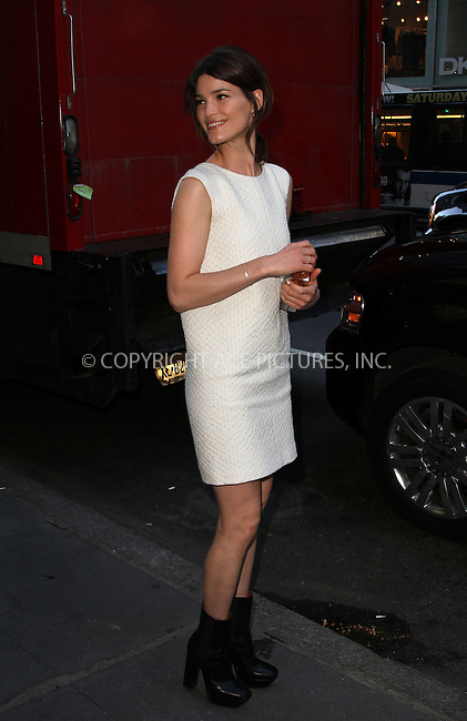 WWW.ACEPIXS.COM....April 17 2013, New York City....Hanneli Mustaparta arriving at the HRC Marriage for Equality USA celebration at the Calvin Klein Boutique on April 17, 2013 in New York City. ....By Line: Zelig Shaul/ACE Pictures......ACE Pictures, Inc...tel: 646 769 0430..Email: info@acepixs.com..www.acepixs.com