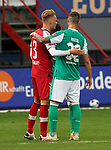17.10.2020, Schwarzwald Stadion, Freiburg, GER, 1.FBL, SC Freiburg vs SV Werder Bremen<br /> <br /> im Bild / picture shows<br /> Philipp Lienhart (Freiburg), Marco Friedl (Bremen)<br /> <br /> Foto © nordphoto / Bratic<br /> <br /> DFL REGULATIONS PROHIBIT ANY USE OF PHOTOGRAPHS AS IMAGE SEQUENCES AND/OR QUASI-VIDEO.