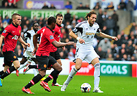 Michu on the ball.<br />