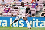 Getafe CF's Amankwaa Akurugu Koffi during La Liga match. August 29, 2021. (ALTERPHOTOS/Acero)