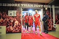 HARRISON, NJ - Friday, June 27, 2014: The New York Red Bulls tie Toronto FC 2-2 during regular season MLS play at Red Bull Arena.