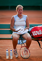 August 12, 2002, Netherlands, Dutch National Championships, NTK, Ede , Silvana Bauer (NED)<br /> Photo: Tennisimages/Henk Koster