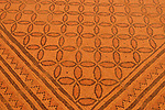 Israel, mosaic floor at the ancient Synagogue of Ein Gedi