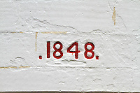 Sign 1848 at Cape Otway Lighthouse