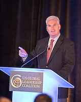 The US Global Leadership Coalition (USGLC) hosted an event with some of Minnesota's most respected political, community and business leaders Thursday, Aug. 4 in downtown Minneapolis at the Radisson Blu Hotel during a leadership panel. Speakers included District 6 US Representative Tom Emmer, Land O'Lakes CEO Chris Policinski, and retired Marine General Michael Hagee