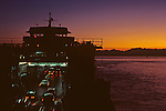Ferry Boats On Puget Sound