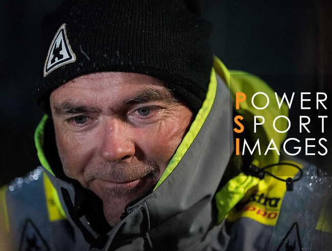 Team Brunel and Mapfre heading towards the Scheveningen Harbour for a 24-hours pit stop of the Volvo Ocean Race Leg 9 Lorient - Gothenburg on June 19, 2015 in The Hague, Netherlands. Photo by Victor Fraile / Power Sport Images
