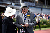 Melbourne Cup winner Rekindling (GB) presentations.   Owner Lloyd Williams<br /> 2017 Melbourne Cup horse racing, <br /> Flemington Racecourse, Melbourne, Australia. <br /> Tuesday 7 November 2017. <br /> © Sport the library / Jeff Crow
