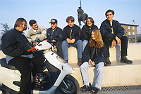 - Milan, young people in Barona district (November 1995)<br />