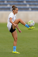 Chicago, IL - Sunday Sept. 04, 2016: Sarah Gorden prior to a regular season National Women's Soccer League (NWSL) match between the Chicago Red Stars and Seattle Reign FC at Toyota Park.