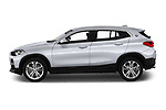 Car driver side profile view of a 2018 BMW X2 Advantage 5 Door SUV