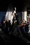 Juan Ramon Lucas y Sandra Ibarra durante la fiesta de Cristina Oiticia mujer de Paulo Cpelho en Madrid. November 24, 2011. (ALTERPHOTOS/Alvaro Hernandez)