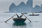 Scene from Halong Bay, Vietnam