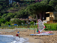 Strand Spiaggia di Naregno bei Porto Azzurro, Elba, Region Toskana, Provinz Livorno, Italien, Europa<br /> beach Spiaggia di Naregno near Porto Azzurro, Elba, Region Tuscany, Province Livorno, Italy, Europe