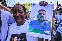 05/01/2021 - PROTESTO PELA MORTE DE MARCELO GUIMARÃES NO RIO DE JANEIRO