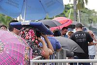 MANAUS, AM, 03.04.2019: SHOW-MANAUS. Venda de ingressos para o show Sandy & Junior no dia 13 de setembro em Manaus, demora mais de duas horas pra começar a ser vendidos, na manhã desta quarta-feira (3), na Arena Poliesportica Amadeu Teixeira, na rua loris cordovil, bairro flores, zona centro-oeste da capital.<br /> Foto: Sandro Pereira/Codigo19