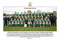 2008-2009   AIB Cup Winners - AIB Div 2 Champions - Trust Ulster Senior Cup Winners -  Trust Ulster Senior League Champions <br /> <br /> Back L-R James Simpson, Stuart Morrow, Robert Greer, Ryan McBride, Michael Graham, Chris Napier, Gareth Rourke, Niall McBriar, Chris Stevenson, Jerry Cronin.<br /> Middle L-R Dale Elliott (Manager), Philip Gregg (Director Of Rugby), Derek Suffern (Head Coach), Matthew Glenn, Willie Faloon, Paddy McAllister, Matthew Nelson, Adam Craig, <br /> Richard Orr, Ryan Bambry, Neil Hanna, Philip Orr, Lewis Johnston, Ian Dornan (Team Resources), Brian McLaughlin (Asst Coach), Daniel Soper (Asst Coach).<br /> Front L-R David Nicholson, Kyle Corrigan, Harry McAleese, Michael Kirkwood, David Harris, Alan Simms (President), Stuart Lamb (Captain), David Workman (Chairman), <br /> Jonny Cullen, Aaron Ferris, David McGreggor, Nevin Spence, David Drake.
