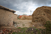Farms near the Zhalong Wetlands, Heilongjiang Province. China. 2011