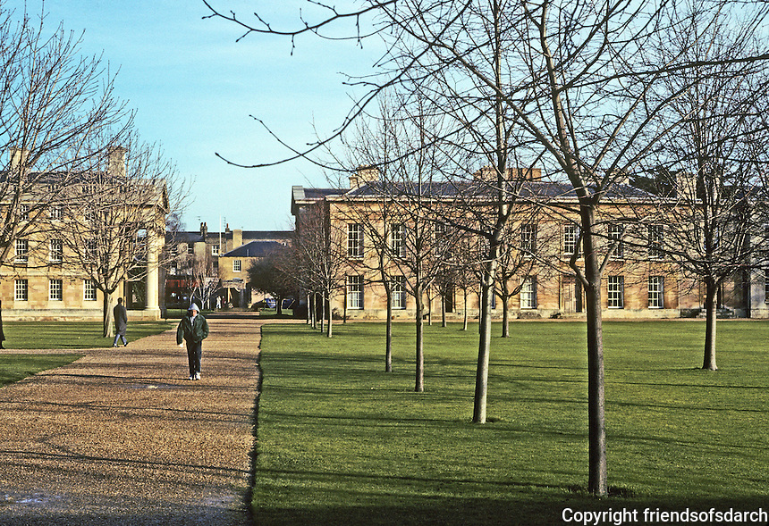 Cambridge: Downing College, 1807. Photo '90.