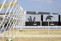 - Milano, giugno 2016, smantellamento delle strutture nel sito dell'Expo 2015<br /> <br /> - Milan, June 2016, dismantling of structures in the site of Expo 2015