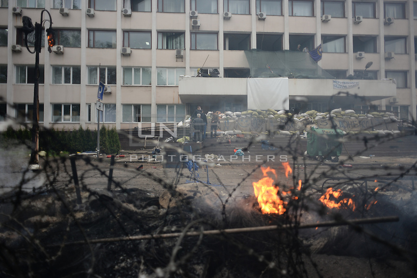 Ukraine's security forces claimed to have killed 21 pro-Russian separatists in Mariupol on one of the bloodiest military repression since the so called anti-terror operation's inception.
