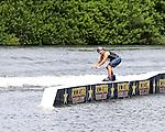 September 13, 2014:  Scenes from the WWA Wakeboard World Championships at Mills Pond Park in Fort Lauderdale, FL.  Men's  Professional Wakeboarder Brad Teunissen AUS. Liz Lamont/ESW/CSM