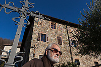 Switzerland. Canton Ticino. Bigorio. Monastery. Convento Santa Maria dei Frati Cappuccini. Fra Roberto Pasotti. The Order of Friars Minor Capuchin is an order of friars within the Catholic Church, among the chief offshoots of the Franciscans.18.12.2018 © 2018 Didier Ruef