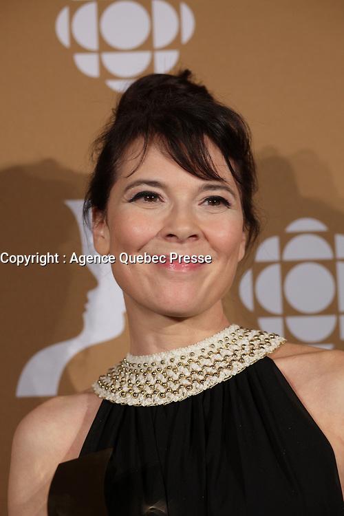 September 16 2012 - Montreal, Quebec, CANADA - Gemeaux Awards Gala - <br /> Anne Dorval<br />  - Anne Dorval