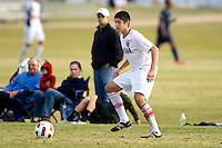 2010 US Soccer Development Academy Winter Showcase U17/18 Vardar vs Oakwood Soccer Club at Reach 11 Soccer Complex in Phoenix, Arizona in December of  2010.