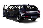 Car images of 2021 Genesis GV80 Advanced 5 Door SUV Doors