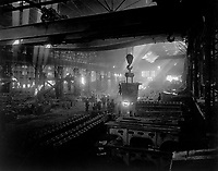 Manufacturing steel ingots for the Government.  Layout of Plant #1.  Sullers Steel Co., St. Louis, Mo.  Ca.  1918.   W. C. Persons. (War Dept.)<br /> Exact Date Shot Unknown<br /> NARA FILE #:  165-WW-217A-2<br /> WAR & CONFLICT BOOK #:  554