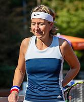 Hilversum, The Netherlands, September 2, 2018,  Tulip Tennis Center, NKS, National Championships Seniors, Womans 35+ final: Mirelle Bink (NED)<br /> Photo: Tennisimages/Henk Koster