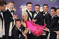"Debbie McGee and Professional Dancers<br /> at the launch of the new series of ""Strictly Come Dancing, New Broadcasting House, London. <br /> <br /> <br /> ©Ash Knotek  D3298  28/08/2017"