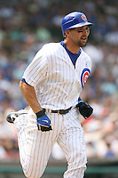 Mark DeRosa of the Chicago Cubs vs. the San Diego Padres: June 18th, 2007 at Wrigley Field in Chicago, IL.  Photo by Mike Janes/Four Seam Images