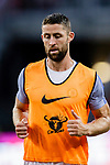 Chelsea Defender Gary Cahill Warming up during the International Champions Cup 2017 match between FC Internazionale and Chelsea FC on July 29, 2017 in Singapore. Photo by Marcio Rodrigo Machado / Power Sport Images