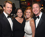 Jason and Celina Stabell with Christine and Ty Hoffer at the Children's Museum Gala Saturday Oct. 03,2009. (Dave Rossman/For the Chronicle)