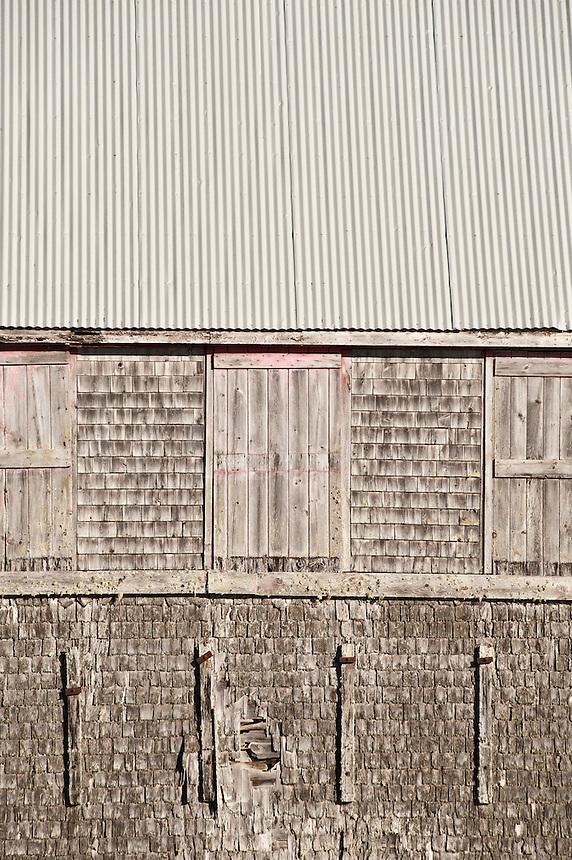 Sardine factory detail, Lubec, Maine