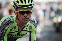 post-race face by Rafal Majka (POL/Tinkoff-Saxo)<br /> <br /> stage 13: Muret - Rodez<br /> 2015 Tour de France