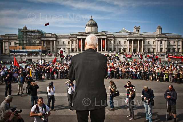 Tony Benn, british politician - 2011<br />