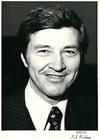 Raymond Garneau<br /> , 1978<br /> PHOTO : JJ Raudsepp<br />  - Agence Quebec presse