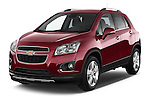 Front three quarter view of a 2013 Chevrolet TRAX LT+ 5 Door Suv 2WD