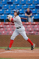 Designated hitter Danny Espinosa #3 of the Potomac Nationals follows through on his first inning home run at Wake Forest Baseball Stadium May 8, 2009 in Winston-Salem, North Carolina. (Photo by Brian Westerholt / Four Seam Images)