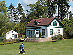 Browns Point Lighthouse, first lit in 1887, first lighthouse built 1901, is now on the National Historic Record and a city of Tacoma, Washington, park, cottage, vacation rental